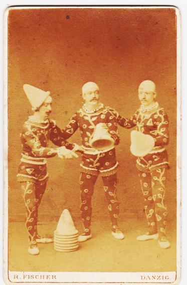 Fratelli Cianchi (Bassi) avant 1880 I Capelli Volanti du Circo Fassio programme au dessus