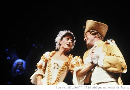 Avec Dominique Virton dans notre scène chantée