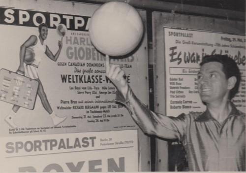 tournée Harlem Globe Trotter, 1963