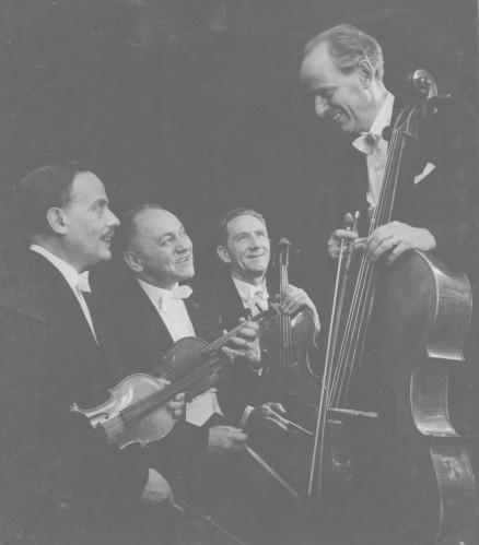 Quartett Lowenguth Mon professeur au premier plan en bas à gauche