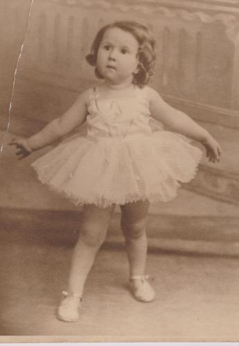 circa 1936 Baby June Wheeler a world war spoilt the beginning of her career