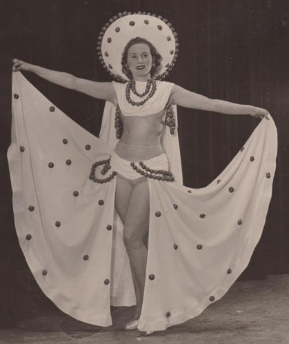 June Wheeler Tiller Girl 17 years old