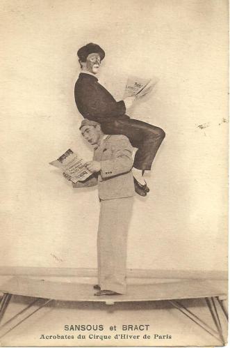 L'oncle Georges et son partenaire Alfonse