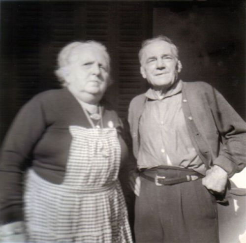 Mes Grands Parents vers 1960