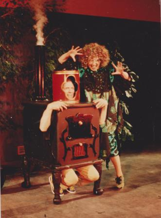 Lizzi chez Zavatta 1983 'Papa et maman