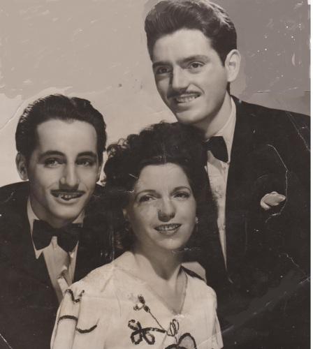 Trio Bassi circa 1950